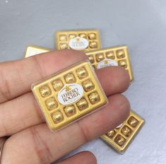 Miniature Chocolate BoxMiniature Plastic BoxMiniature