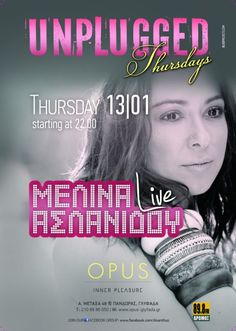 Melina Aslanidou Live @ Opus Live Events, Beautiful People, Movies, Movie Posters, Film Poster, Films, Popcorn Posters, Film Books, Movie