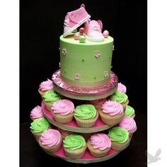 Baby shower cake ...so cute!