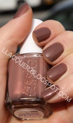 Soft Autumn  Essie Over the Knee. Pretty for Fall.