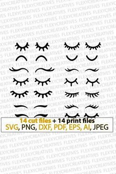 Eyelashes svg eyelashes unicorn vector clipart cut file eyelashes clip art cricut eyelashes s Wimpern SVG, Wimpern Einhorn Vektor, Clipart, Date… Ideas for embroidery eyes for stuffed animals 30 Stunning Open Storage Room Suggestions For Advanced Home E Doll Eyes, Doll Face, Cricut, Unicorn Birthday, Birthday Kids, Fabric Dolls, Felt Crafts, Diy Crafts, Fabric Crafts