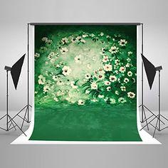 Kate 6.5x10ft Flower Photography Backdrops White Flower G...