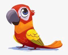 perroquet dessin image dessins mignons coloriage avec les chiffres