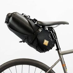 Restrap Saddle Bag Holster and Dry Bag Bike Saddle Bags, Bike Bag, Cycling Wear, Cycling Bikes, Cycling Clothing, Hardtail Mountain Bike, Mountain Biking, Cheap Bikes, Cycling Accessories
