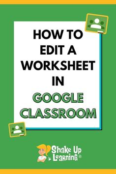 Yes, I know you REALLY want to know how to put your worksheet into Google Classroom! But, let's take a step back and take a deeper look at the purpose of your assignment, the power of G Suite, and how you can go BEYOND substitution and a static worksheet. Free Teaching Resources, Teacher Resources, Teaching Tips, Math Classroom, Google Classroom, Presentation Software, Learning Goals, Book Study, Educational Technology