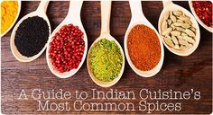 A Guide to Indian Cuisines Most Common Spices Common Spices, Most Common, Snacks, Recipes, Articles, Food, Tapas Food, Appetizers, Meal