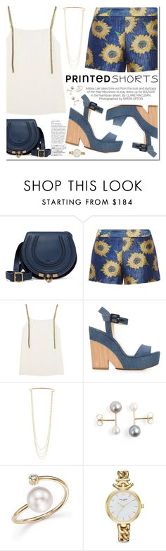 """Untitled #367"" by piccolamarisa ❤ liked on Polyvore featuring Avenue, Chloé, Alice + Olivia, Zeus+Dione, Jimmy Choo, Kershaw, Marc Jacobs, ZoÃ« Chicco, Kate Spade and printedshorts"