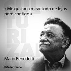 Simples Comillas: «La perfección es una pulida colección de errores» 10 grandes frases de Mario Benedetti