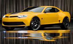 Sub5Zero |Transformers 4 Bumblebee Camaro Chevrolet concept movie car