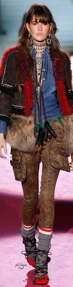 DSquared2 Fall 2015 RTW