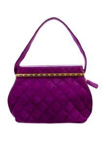 Chanel Suede Frame Bag