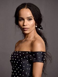Zoe Kravitz gets it right every time - and here are 26 examples. We're wishing Zoe a happy birthday by picking out our all time faves. Katharine Hepburn, Audrey Hepburn, Lisa Bonet, Zooey Deschanel, Diane Keaton, Kristen Bell, Cindy Crawford, Zoe Kravitz Braids, Lauren Conrad
