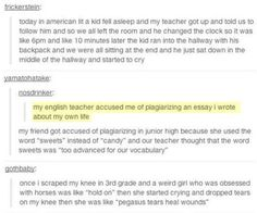 Students are some of the weirdest people on earth. #funny #students #stories #tumblr