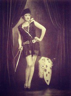 Marlene Dietrich photographed by Ernst Schneider in 1921.