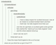 England is the U.S. of Europe