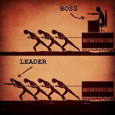 un vrai leader fait partie de l'équipe de travail, il ne fait pas que la diriger @agencenostromo
