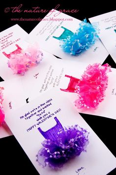 dancer valentine cards