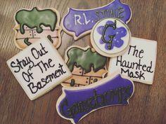 Goosebumps Theme Cookies