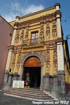 ex-capilla dedicado a San felipe Neri y que actualmente es sede del Museo de Arte de veracruz