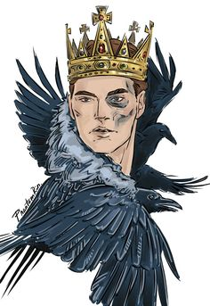 """@phantomrin.tumblr.com: """"He was a king."""" Gansey (""""The Raven Cycle"""" by @maggie-stiefvater)"""