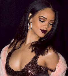 Rihanna makeup pinterest: adianep