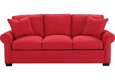 Cindy Crawford Home Bellingham Indigo Sofa Room Living room ideas