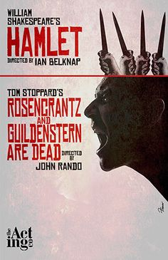 Hamlet/Rosencrantz and Guildenstern Are Dead. The Acting Company. Fraver Design. 2013