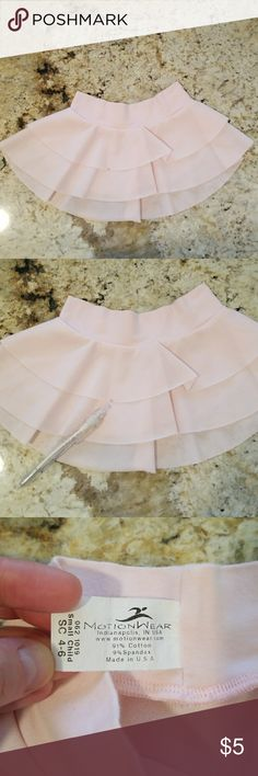 💥Kids💥Light pink ballet skirt GUC see picture with pointer for spot. Motionwear Costumes Dance