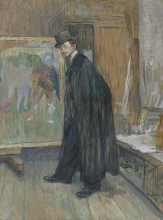 Henri de Toulouse-Lautrec (1864-1901) | Portrait de Henri Nocq | Paintings, oil | Christie's