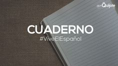 Spanish Word of the Day: CUADERNO #Spanish #LearnSpanish