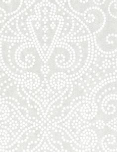 White wallpaper from Eco