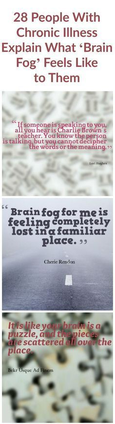 """""""Brain fog is needing a reminder to remind you what your reminders are for."""" — Selena Marie Wilson 28 People With Chronic Illness Explain What 'Brain Fog' Feels Like to Them Arthritis Remedies, Psoriatic Arthritis, Arthritis Symptoms, Arthritis Treatment, Ulcerative Colitis, Types Of Arthritis, Myasthenia Gravis, Crps, Chronic Fatigue Syndrome"""