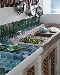 Arredare con le piastrelle maioliche - Piastrelle antiche in ...