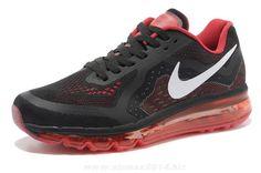 Black University Red White Mens Nike Air Max 2014 Low