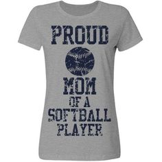 Proud mom of a softball player