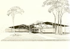 Bourne Company Residence, St. Petersburg, FL by Paul Rudolph