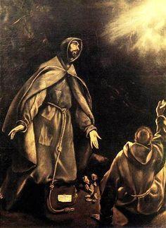 Stigmatisation of St. Francis - El Greco