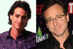 Bob Saget then and now
