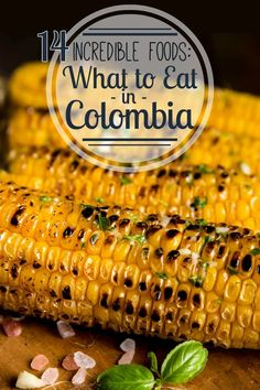 From ajiaco to arepas, from cherimoya to mamancillo ... Colombian food is incredibly good. Find out what to eat in Colombia! The 14 best fruits, meat, street food, and soup in Colombia. Colombia food | Colombia travel | South America travel | South American food | Latin American food | Latin American travel