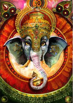 Beautiful Indian Elephant