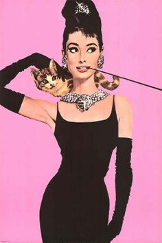 Audrey Hepburn in Breakfast at Tiffany.  .