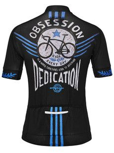 Bike Obsession Black Men s Jersey Bike Wear e6df56c2f