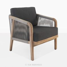 Facade Brentwood Reclaimed Teak Relaxing Chair | Outdoor Lounge Chair