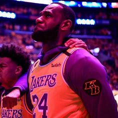 The morning after LeBron James eclipsed Kobe Bryant for third in all-time NBA scoring, on the flight home from Philadelphia, the Lakers learned of Bryant's death. Nba Video, Lakers Game, Vanessa Bryant, Nba Season, Anthony Davis, San Antonio Spurs, Houston Rockets, New York Knicks, Nba Players