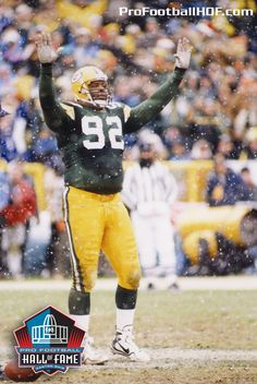 Dec. 19, 1961 - Reggie White, Pro Football Hall of Fame Class of 2006, was born in Chattanooga, Tennessee. Click image for Reggie's complete HOF bio.