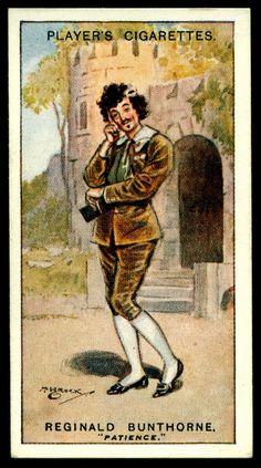 "https://flic.kr/p/gCT4Ka | Cigarette Card - Reginald Bunthorne ~ Patience | Player's Cigarettes  ""Gilbert & Sullivan"" (A series of 50 issued in 1925) #23 Reginald Bunthorne ~ Patience"