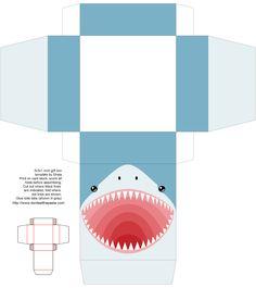 Boîte requin à imprimer