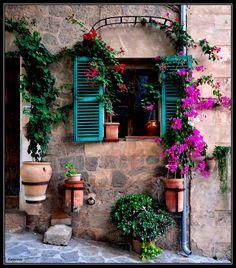 Window, Valldemossa - Mallorca
