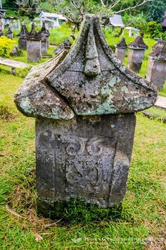 Ancient Cemetery of Minahasa - Manado Manado, Archipelago, I Fall In Love, Temples, Cemetery, Garden Sculpture, Natural Beauty, Roots, Creepy