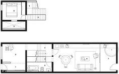 Rethinking the Split House, Neri & Hu, China, 2014, Ground floor plan